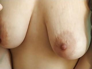 Perfect nipple sucking