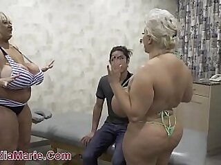 Teenager Fucks Huge Saggy Udder BBW's