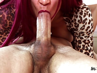 Edging and Throbbing Oral Creampie A38