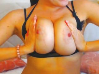 Sexy Shove around Babe on Cam