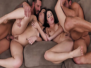 Adolescence Alex Coal and Kimber Woods gives their dads some medicine