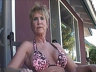 Of age Honey Jizzed On Huge Fake Tits