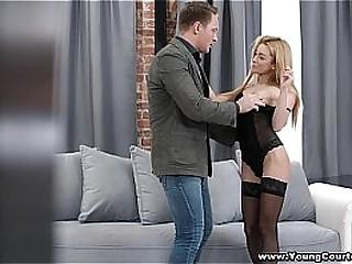 Young Courtesans - Their way maximum effort seductive lingerie set