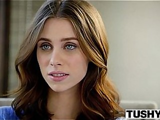 Tush First Anal For College Girl Anya Olsen